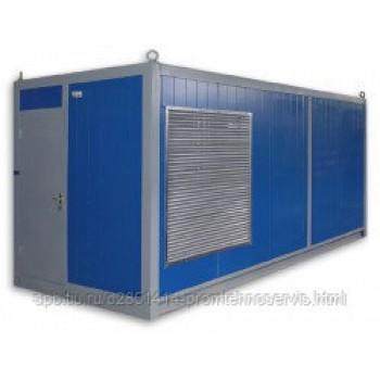 Дизельный генератор Caterpillar 3406 в контейнере с АВР