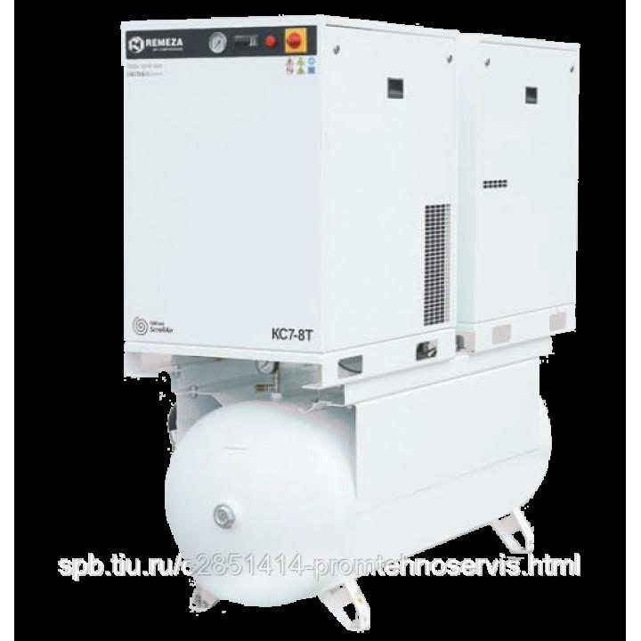 Безмасляный спиральный компрессор Remeza КС7-8(10)-500ТМ