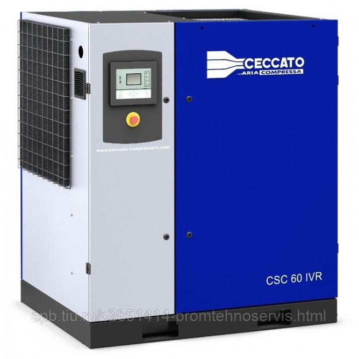 Винтовой электрический компрессор Ceccato CSC 60 IVR H